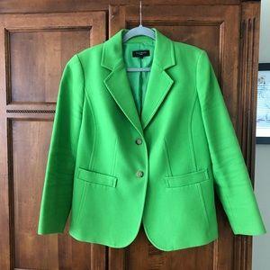 Talbot's Green Textured Blazer